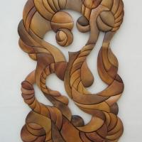 Панно из дерева, Васькова И