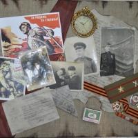 Ухина М.Н. Эх, путь-дорожка фронтовая... из триптиха «Героям Великой Отечественной…»